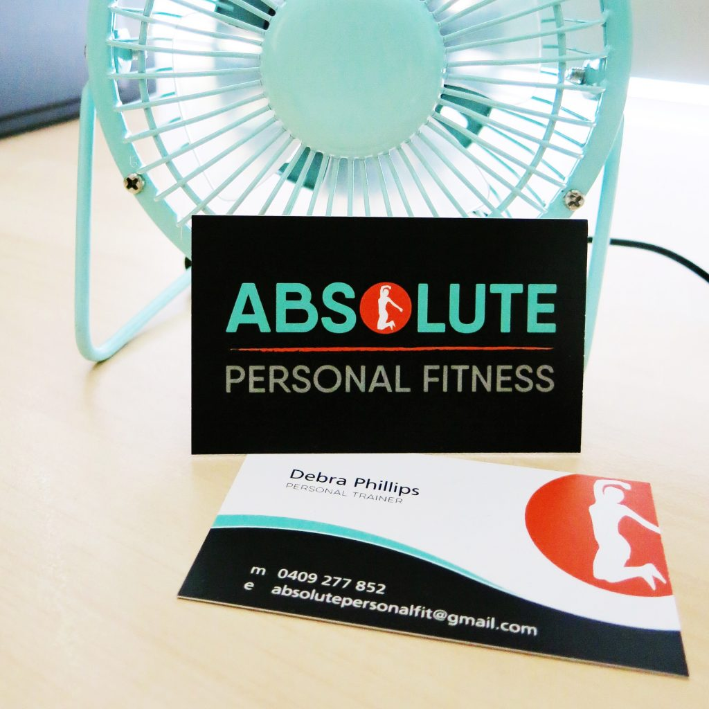 Absolute Personal Fitness Logo and Business Card Design